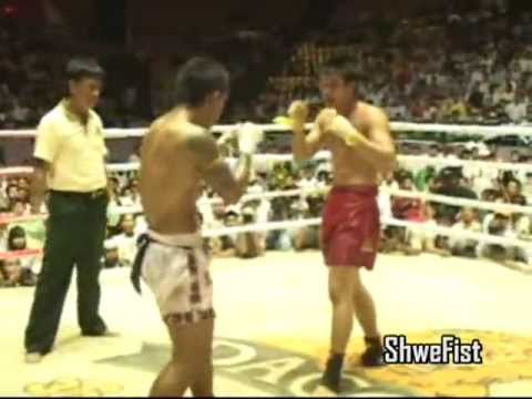 Myanmar Lethwei, Poe K vs. Saw Shark