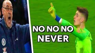 Video Football Players Refusing to Leave the Field (Kepa, Cristiano Ronaldo, Neymar ...) MP3, 3GP, MP4, WEBM, AVI, FLV Maret 2019