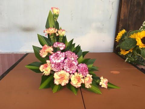 Cách cắm hoa đẹp