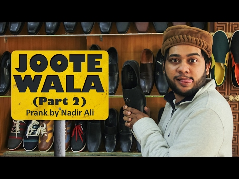 Video Joote Wala Prank By Nadir Ali | Part 2 |In P4PAKAO download in MP3, 3GP, MP4, WEBM, AVI, FLV January 2017