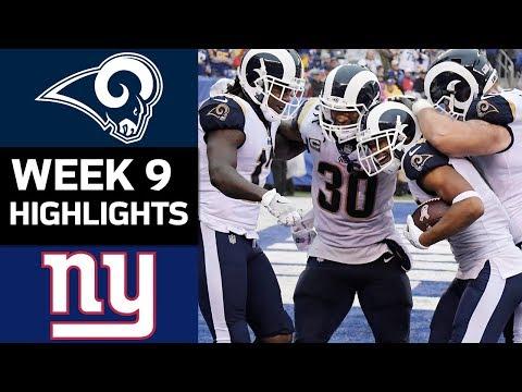 Rams vs. Giants | NFL Week 9 Game Highlights - Thời lượng: 7:19.
