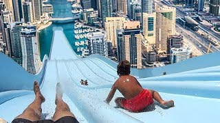 Video Top 5 LONGEST WATERSLIDES IN THE WORLD! MP3, 3GP, MP4, WEBM, AVI, FLV Agustus 2017