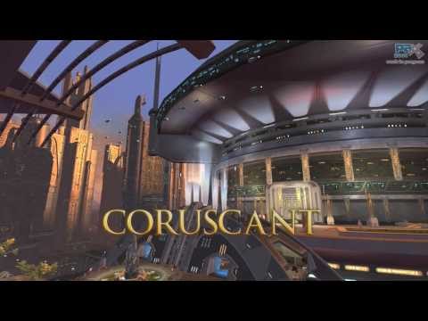 coruscant - This year at the Penny Arcade Expo, attendees were treated to a special sneak-peek of the Republic capital world of Coruscant! For anyone who was unable to a...