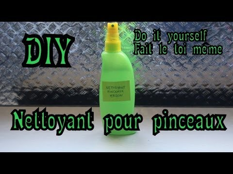 comment nettoyer pinceau gel uv