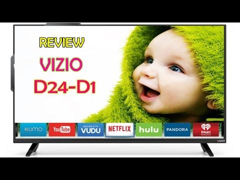 VIZIO D24 D1 D Series 24 inch Class LED Smart TV Review