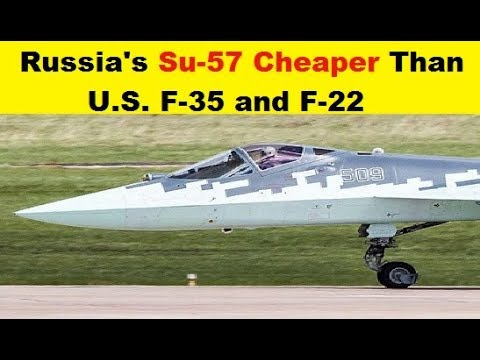 The Russian Su-57 fifth-generation...