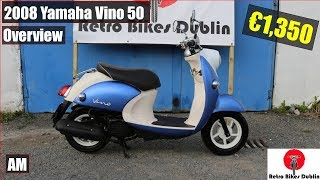 9. 2008 Yamaha Vino 50 Blue Review / Overview