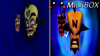 A comparison of the Time Twister Messages from New Crash Bandicoot vs the old Crash Bandicoot.https://www.youtube.com/watch?v=wtFOUDMiCSQ old footage is found here. Give this guy some help! : 3Want 12 Months of PlayStation Plus with Amazon? http://amzn.to/2nE0LDb (Affiliate Link) (U.S.)http://amzn.to/2nXmamY (Affiliate Link) (U.K.)------------------------------------------------------------------------------------------Are you a YouTube content creator? Click the link to apply for a Curse Partnership: ► https://www.unionforgamers.com/apply?referral=4hw6r7lzcccabp (Affiliate Link)------------------------------------------------------------------------------------------Subscribe to the milkiest channel on the Internet! 。◕ ‿ ◕。►https://www.youtube.com/channel/UCPH28MUR1-Ko5tRQuJf3zmw------------------------------------------------------------------------------------------Social Media!►https://twitter.com/The_Milkbox (Twitter)►http://supermilkbox.tumblr.com/ (Tumblr)►https://www.facebook.com/Super-Milkbox-1380643578903590/?ref=hl (Facebook)------------------------------------------------------------------------------------------Any comments? Just drop them! I reply pretty quick. ------------------------------------------------------------------------------------------Credits:Music that may have been used in this production is provided by Kevin Macleod of incompetech.com