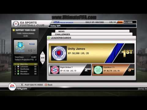 FIFA 12: How to Find My Challenges