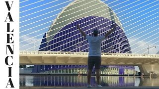 CITY OF ARTS & SCIENCES // OUR WALKING TOUR OF VALENCIA [ HONEYMOON DAY 81 ]