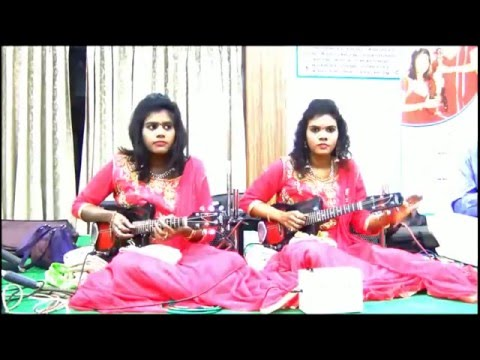 Mahaganapathim with Rhythm, Tabala and Mridangam by Mandolin Sisters Sreeusha & Sireesha