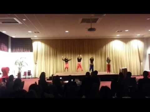 Bollywood rhythm: performing at LSMU Masquerade Ball (видео)