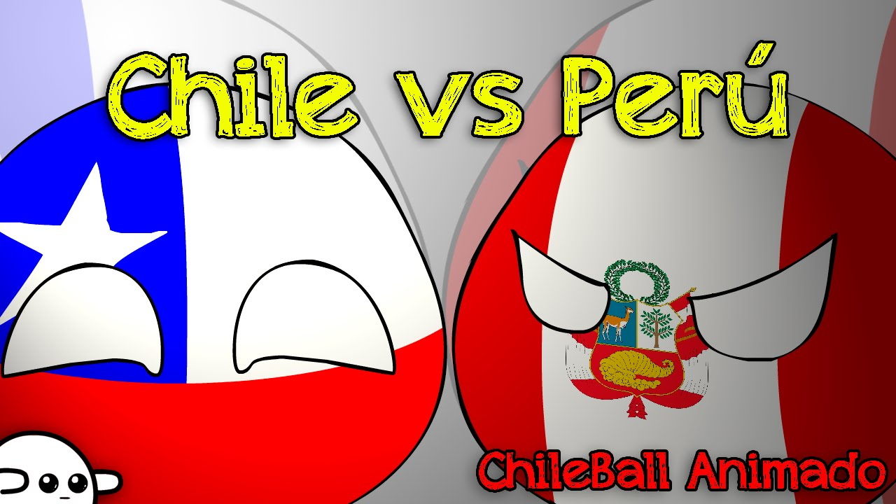 Chile vs Perú [ Chileball animado ] #CopaAmerica2015