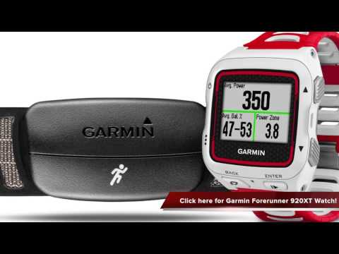 Review of Garmin Forerunner 920XT White Red Watch With HRM Run
