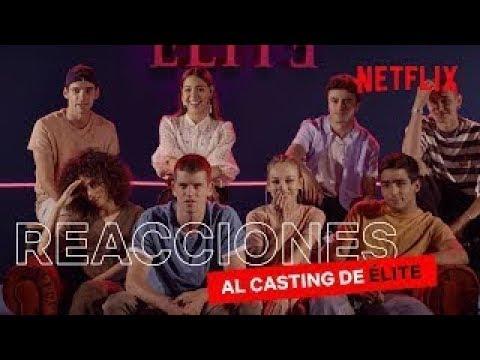 Los actores de Élite reaccionan a sus videos de casting