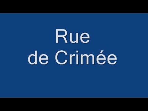 Rue de Crimée Paris Arrondissement  19e
