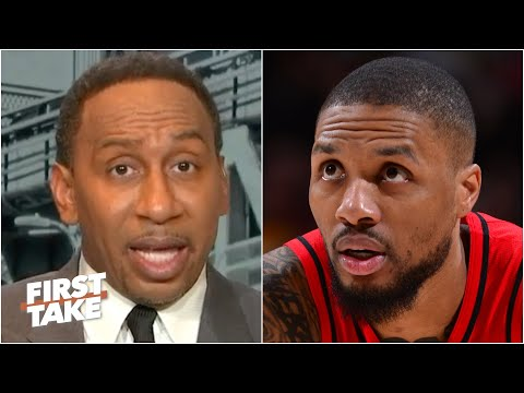 'OH MY GOD!' - Stephen A. reacts to Damian Lillard scoring 55 points in a loss   First Take