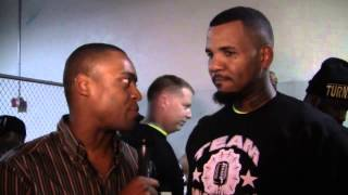 Rap Legend  THE GAME  on Adrien Broner vs Marcos Maidana