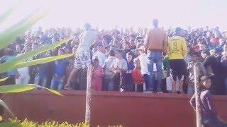 Ultras Brave boys ambiance du match cass VS usat