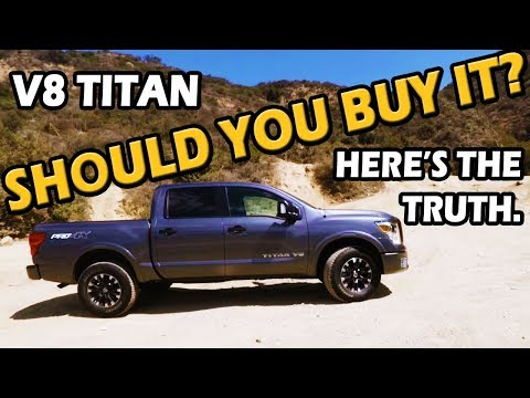 2018 Nissan Titan Review (Pro-4X V8 4x4 Crew Cab)   Test Drive Tuesday on Truck Central