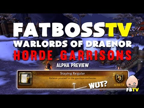 garrison - Build your own base on Draenor with the Garrisons! Today we check out the new Garrisons on the Warlords of Draenor Alpha, including how they work, what build...