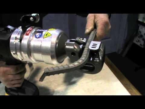 Stainelec Silvercut 16 Cordless Hydraulic Rebar Cutter by Ed