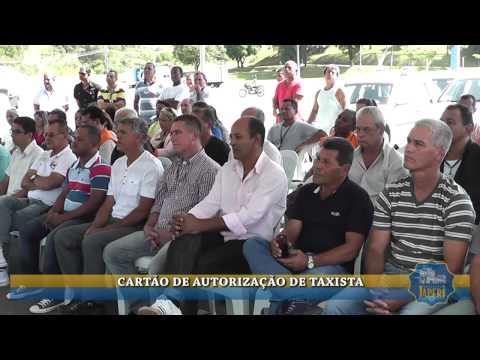 CART�O DE AUTORIZAC�O DE TAXISTA EM JAPERI