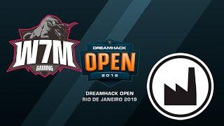 W7M vs Valiance - DreamHack Open Rio 2019 - map2 - de_nuke [SSW]