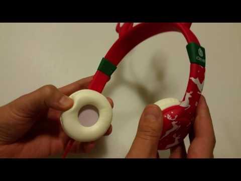 Tech Review: iClever Boostcare Kids Headphones (bats, reindeer, piggy)
