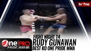 Best KO One Pride MMA Fight Night 14: Rudy Gunawan