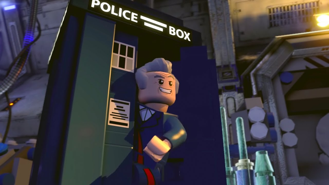 Doctor Who Heads Into LEGO Dimensions! [TRAILER]