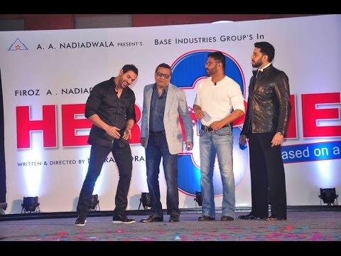 Hera Pheri 3 Announcement│Abhishek Bachchan, Paresh Rawal, John Abraham