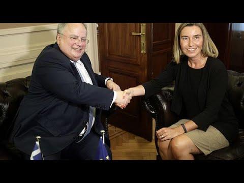 Στην Αθήνα η Φεντερίκα Μογκερίνι