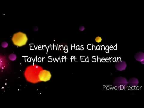Everything Has Changed - Taylor Swift and Ed Sheeran (Karaoke Female Part Only)