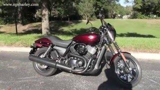 7. Used 2015 Harley Davidson XG750 Street 750
