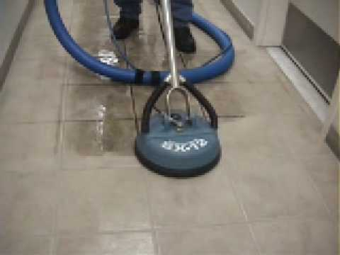All Around Carpet Care cleaning tile