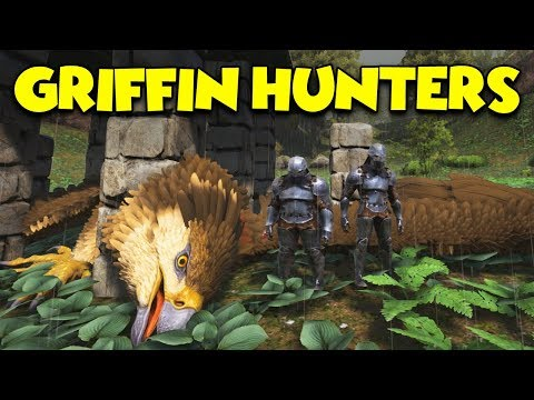 GRIFFIN HUNTERS  - ( Ragnarok ) ARK Duo Survival Series #13