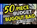Low Cost Bugout Survival Bag 2021