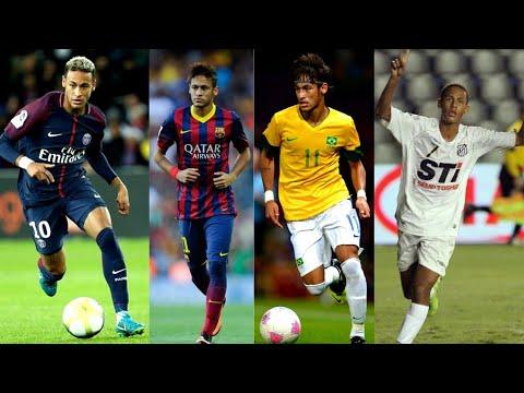 Neymar First Goal in Psg-Barcelona-Brazil-Santos (Football Skills)