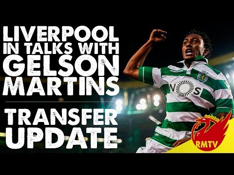Liverpool In Talks With Gelson Martins | LFC Daily Transfer News LIVE