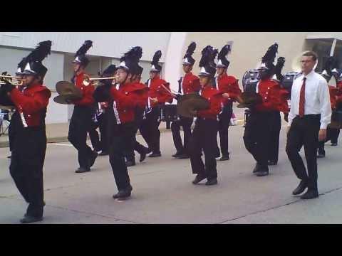 Jackson High School Marching Band Parade