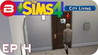 Sims 4 City Living Gameplay - DESPERATE FOR A...TEA! #4 (Let's Play Sims 4 City Living)