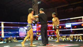 THAILAND MOST BRUTAL MUAY THAI (FIGHT 4) NOVEMBER 5 OF 2012 CHIANG MAI, LOIKROH