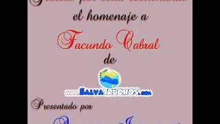 Homenaje A Facundo Cabral En Salvatruchos Radio Parte 5 De 6
