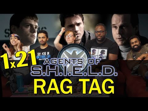 Agents Of Shield - 1x21 Ragtag - Group Reaction