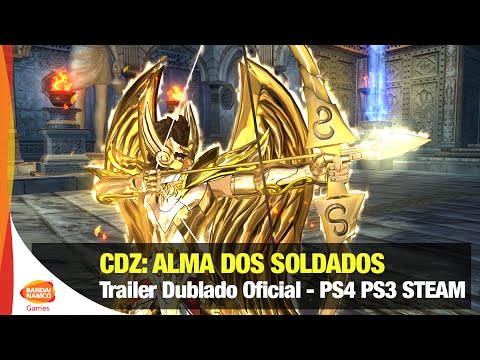 Cavaleiros do Zodíaco: Alma dos Soldados - Trailer Dublado Oficial - Bandai Namco Brasil видео