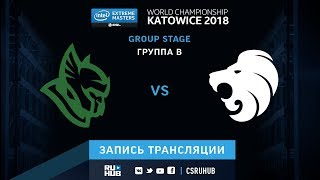 Heroic vs North - IEM Katowice 2018 - map1 - de_mirage [SleepSomeWhile, GodMint]