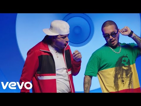 X {English Version} - Nicky Jam Ft J Balvin  [Audio Oficial]