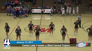 Caston Girls Basketball vs. West Central