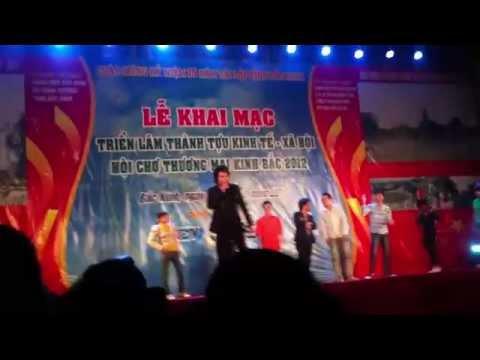 châu việt cường châu việt pháp tại hội chợ Bắc Ninh 2014